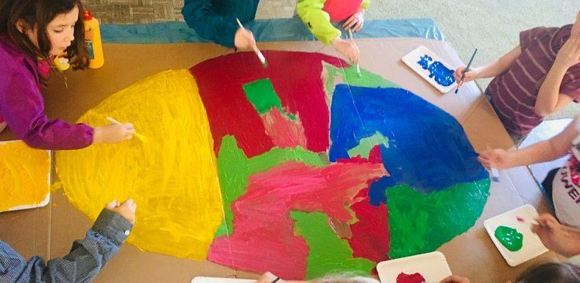 Weihnachtsbasteln 2 Klasse.Kreativ Gestalten Mit Den Kindern Der 2 Klassen Basteln Für Den